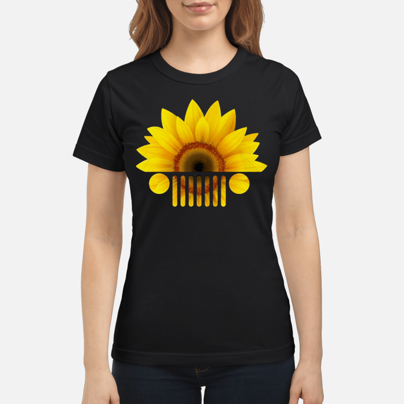 Sunflower jeep shirt, hoodie, sweater and V-neck t-shirt