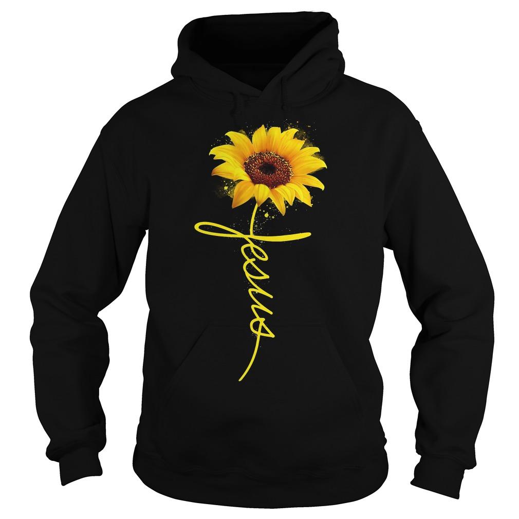 Sunflower Jesus Hoodie