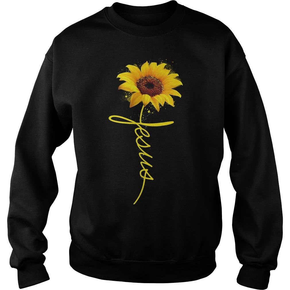 Sunflower Jesus Sweater