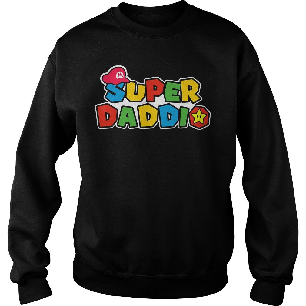 Super Daddio Mario Sweater