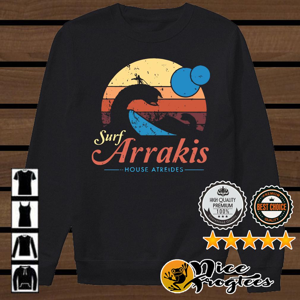 Surf Arrakis House Atreides retro shirt