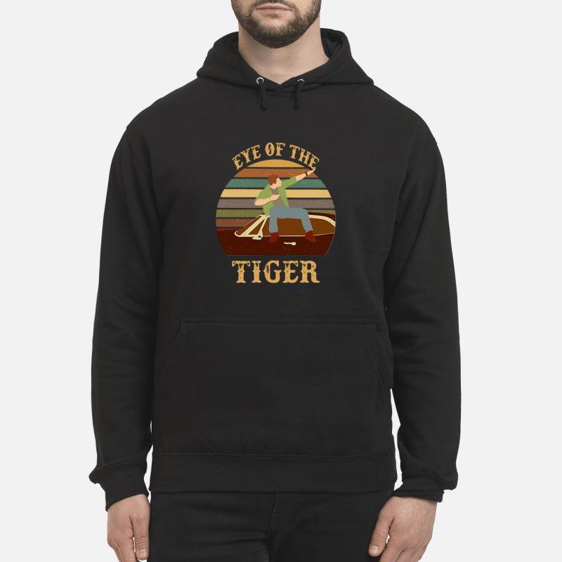 Survivor Eye of the tiger retro Hoodie