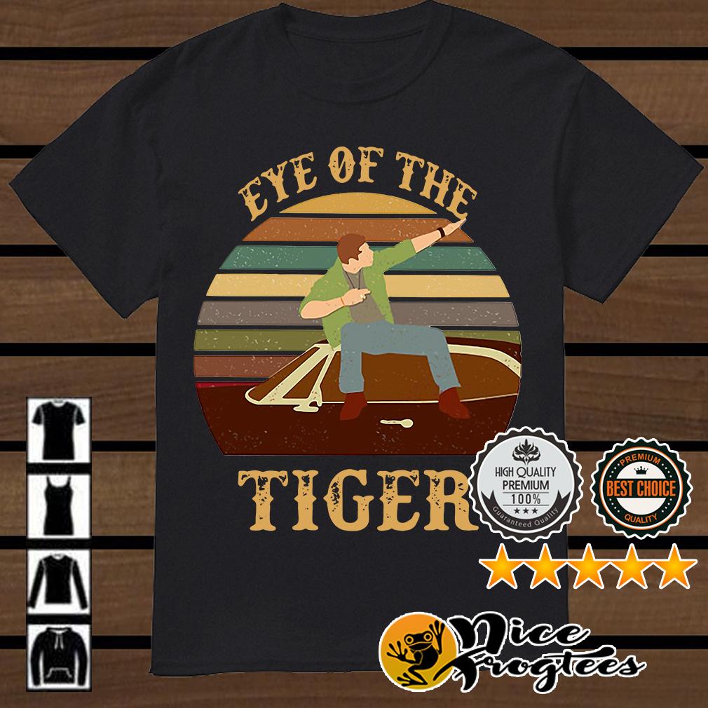 Survivor Eye of the tiger retro shirt