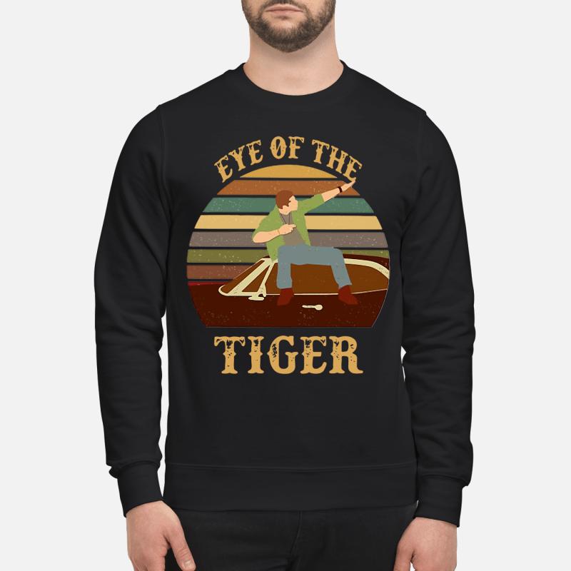 Survivor Eye of the tiger retro Sweater