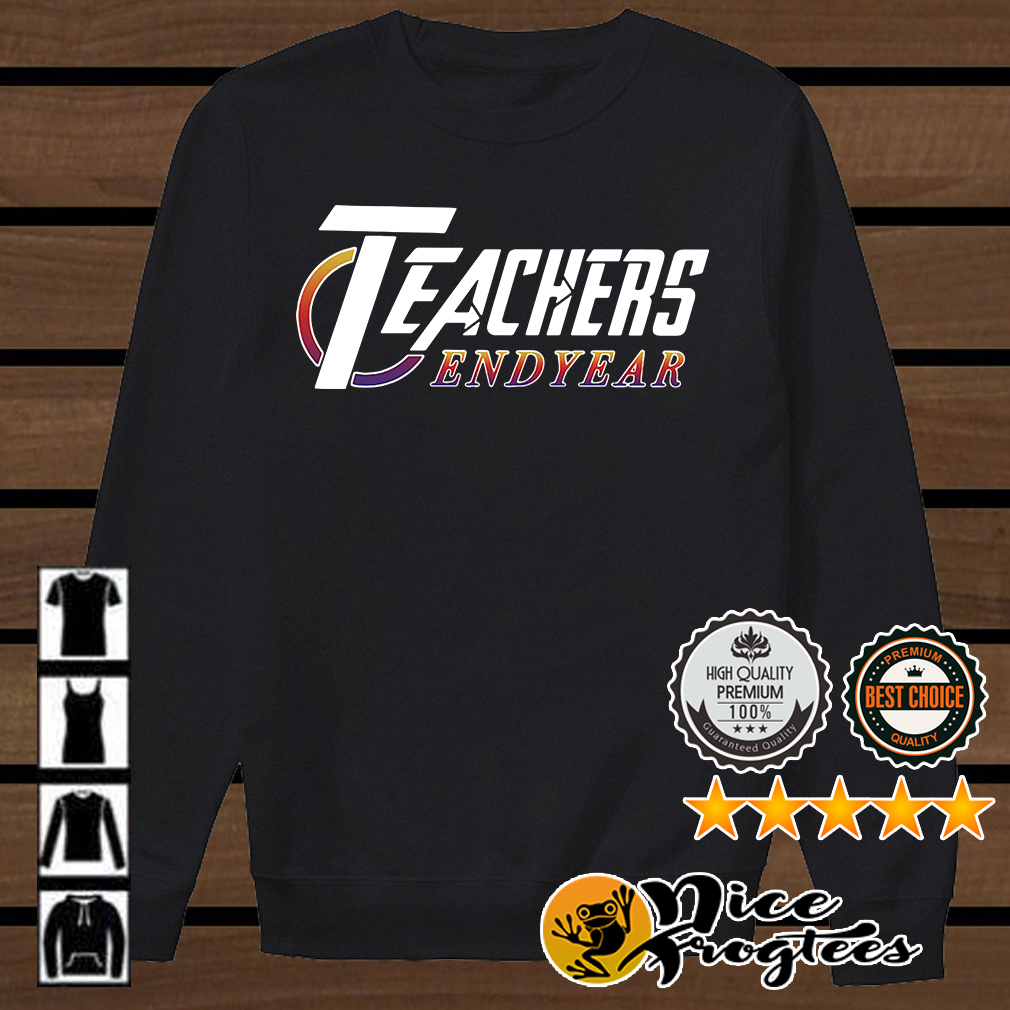 Teacher Endyear Avengers Endgame shirt