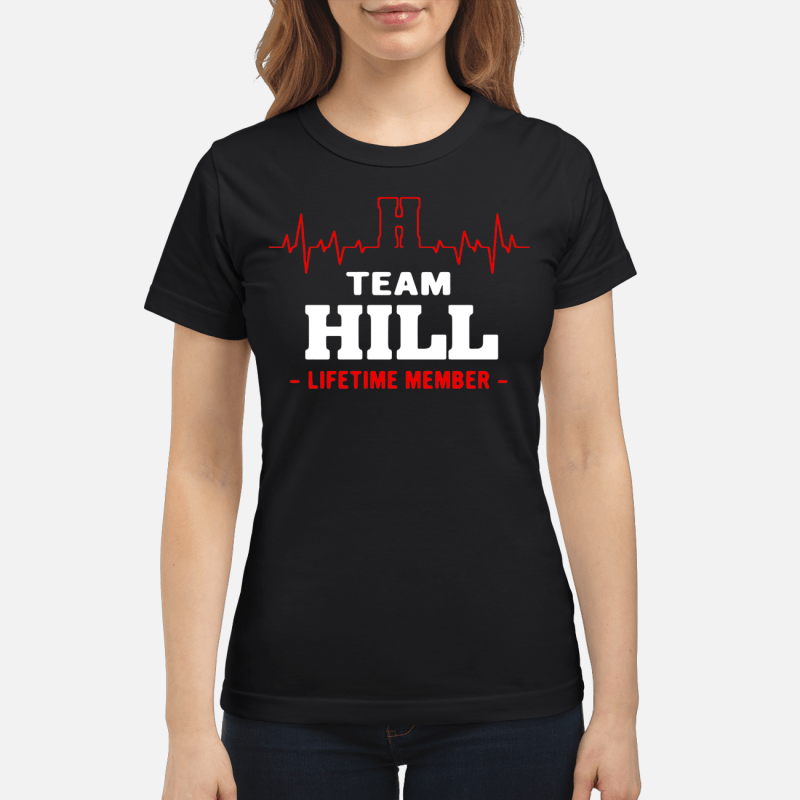Team Hill lifetime member Ladies tee