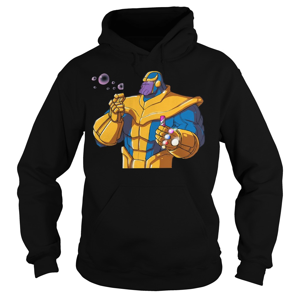 Avenger Thanos blowing bubbles Hoodie