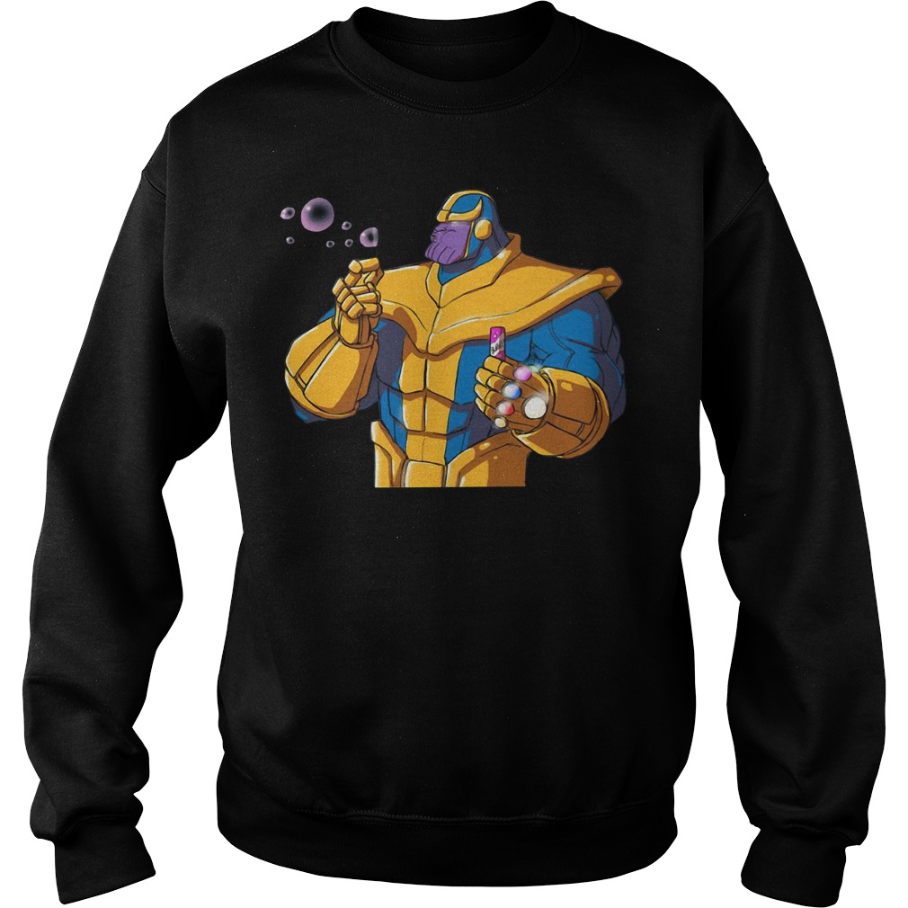 Avenger Thanos blowing bubbles Sweater