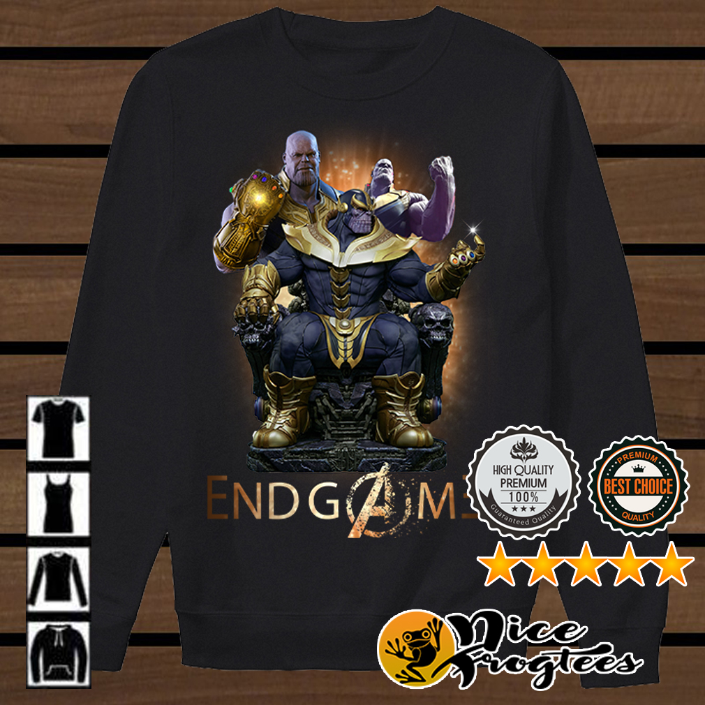 Thanos Marvel Avengers Endgame shirt