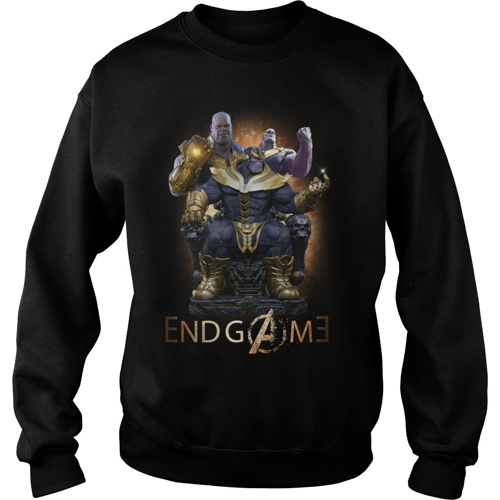Thanos Marvel Avengers Endgame Sweater