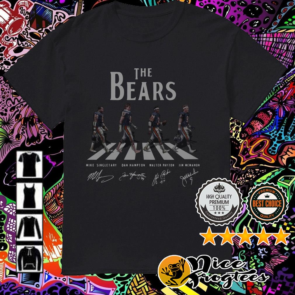 The Chicago Bears Abbey Road signatures shirt