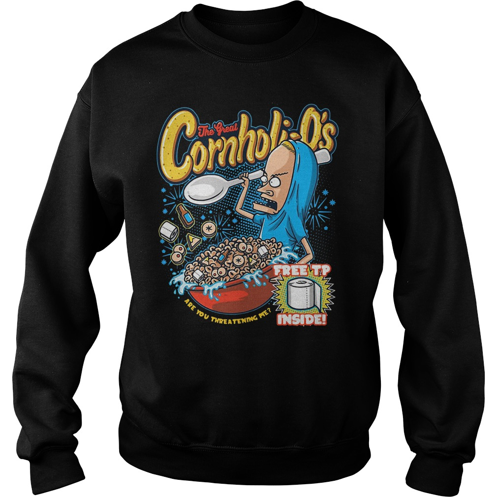 The great Cornholio Beavis and butt head Sweater