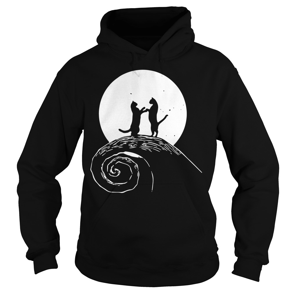 The nightmare before catmas Hoodie