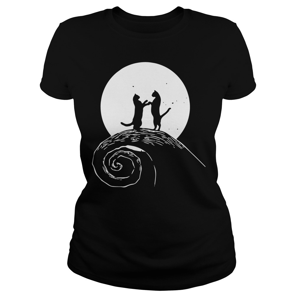 The nightmare before catmas Ladies tee