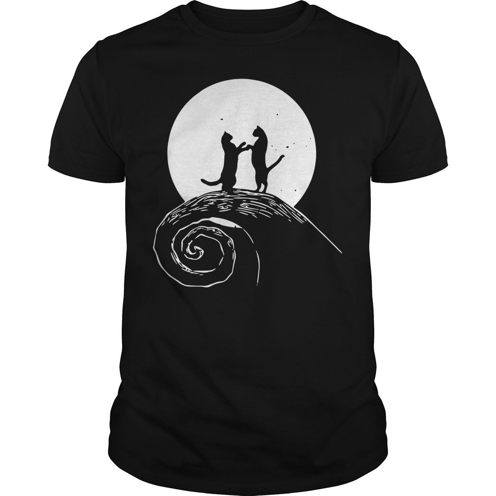 The nightmare before catmas shirt