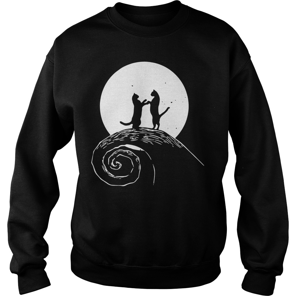 The nightmare before catmas Sweater
