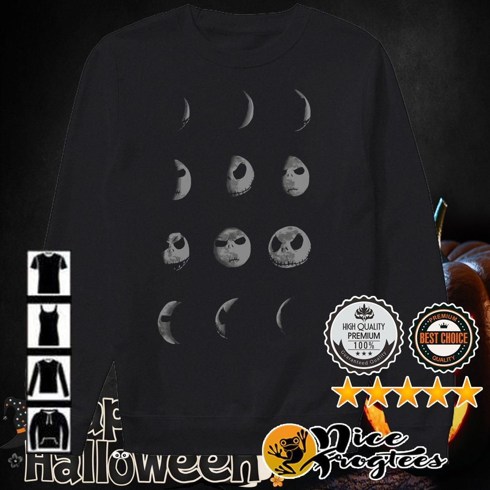 The Nightmare Before Christmas Jack Skellington Moon shirt