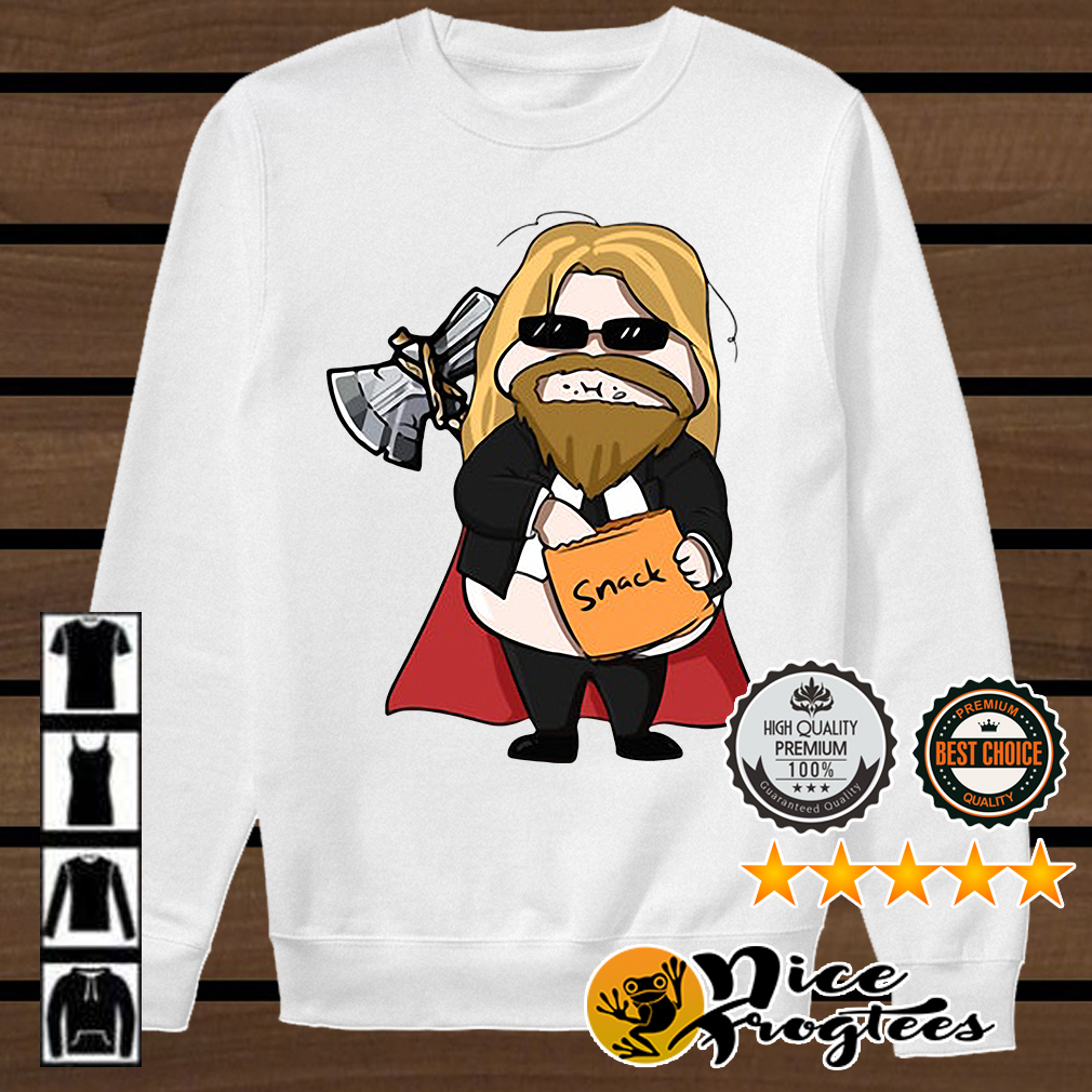 Thor eating snack shirt