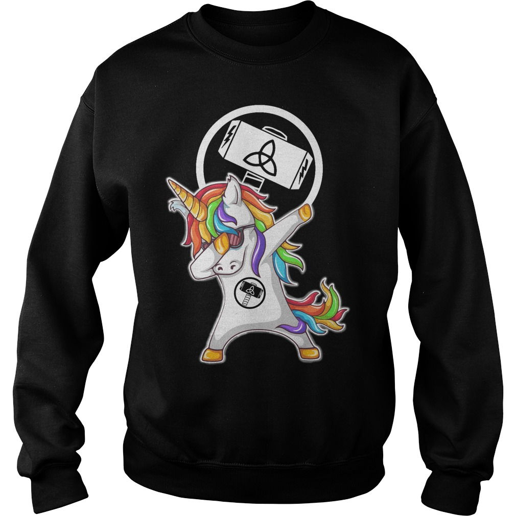 Thor Unicorn Dabbing Sweater