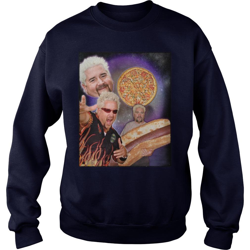 Three guy Fieri Moon Sweater