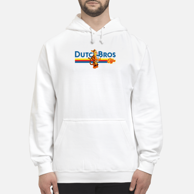 Tigger drinking Dutch Bros coffee Hoodie