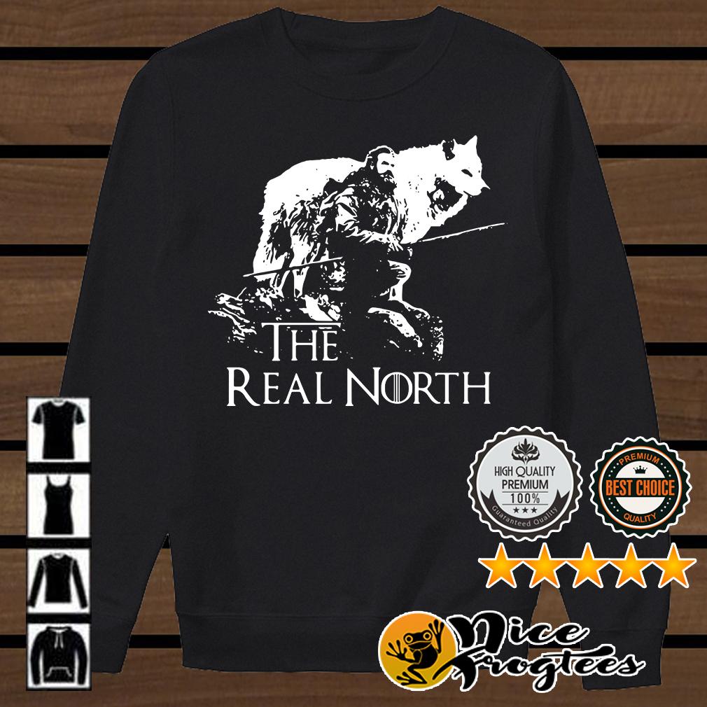 Tormund Giantsbane Direwolves the real north Game Of Thrones shirt