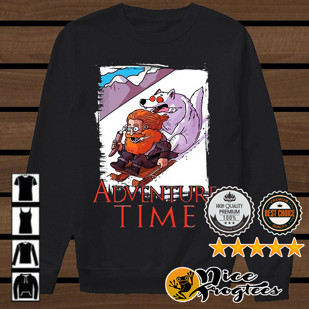 Tormund Giantsbane snowboarding adventure time Game of Thrones shirt