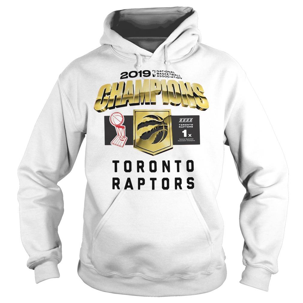Toronto Raptors 2019 Champions Hoodie