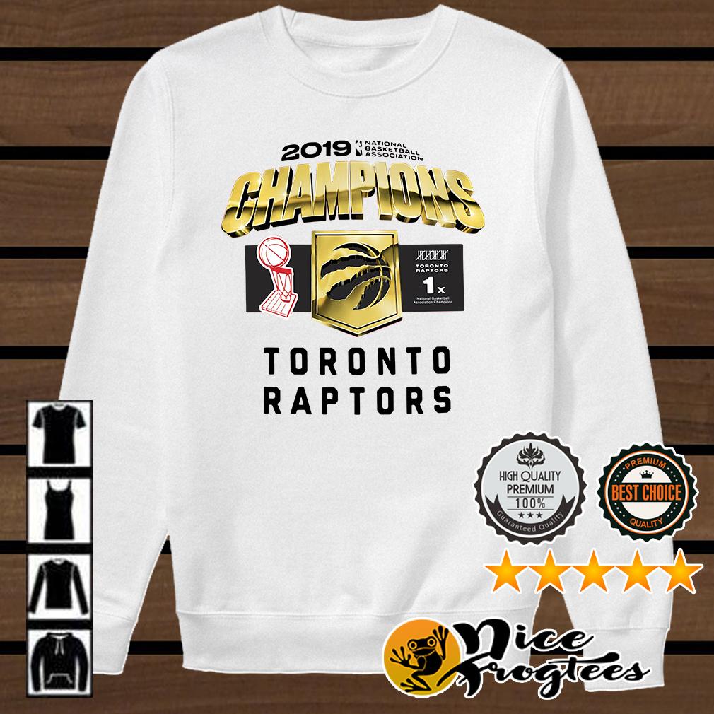 Toronto Raptors 2019 Champions shirt