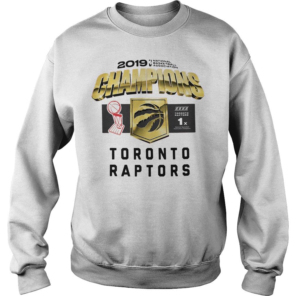 Toronto Raptors 2019 Champions Sweater