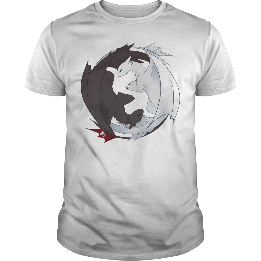 How to train your Dragon: Night Fury love Light Fury shirt