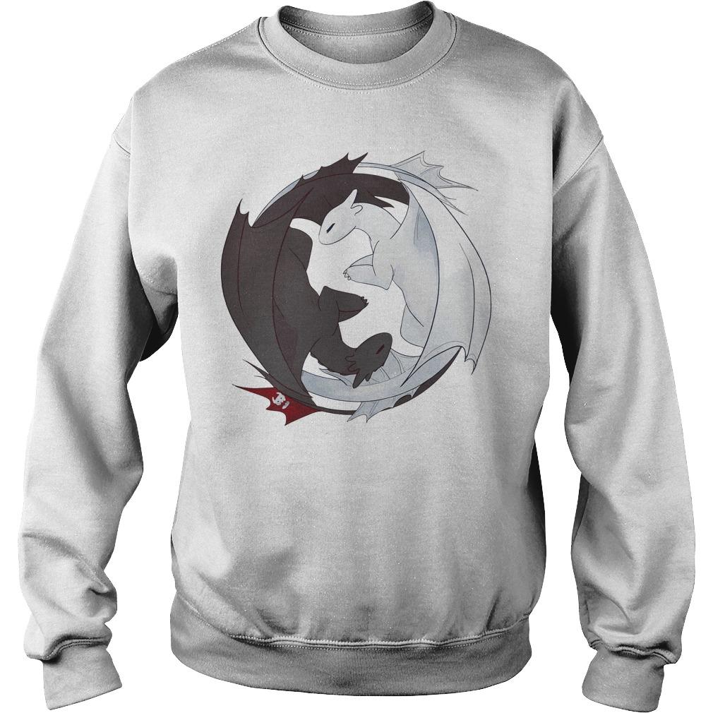 How to train your Dragon: Night Fury love Light Fury Sweater