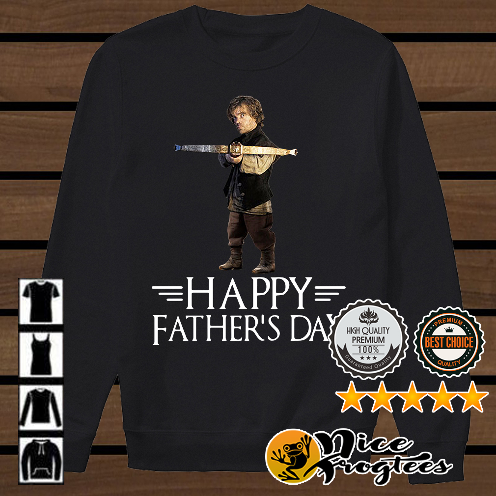 Tyrion Lannister killing father happy father's day Game of Thrones shirt