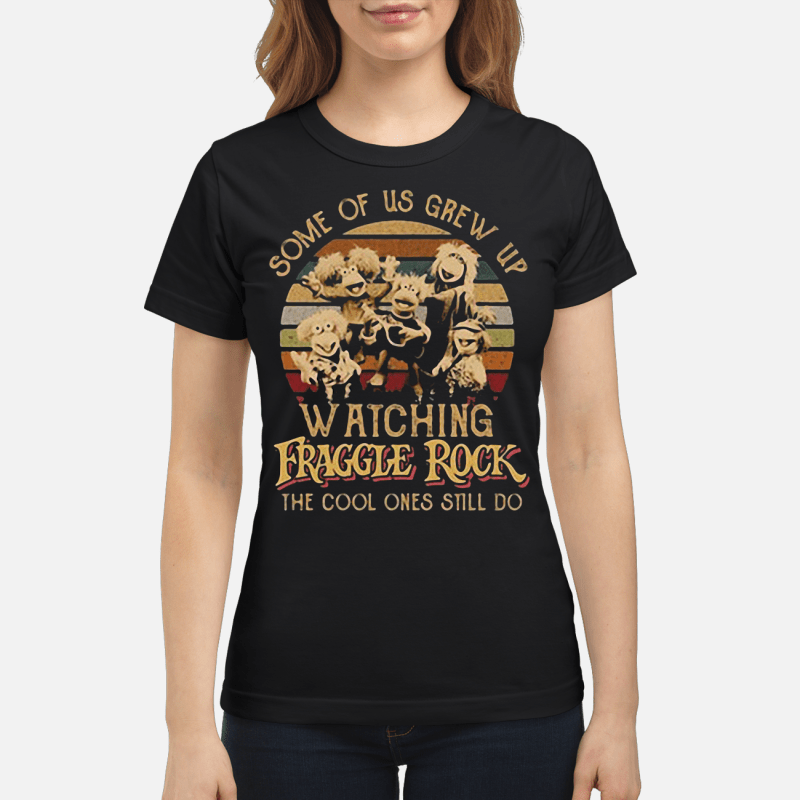 Some of us grew up watching Fraggle rock the cool ones still do retro Ladies tee