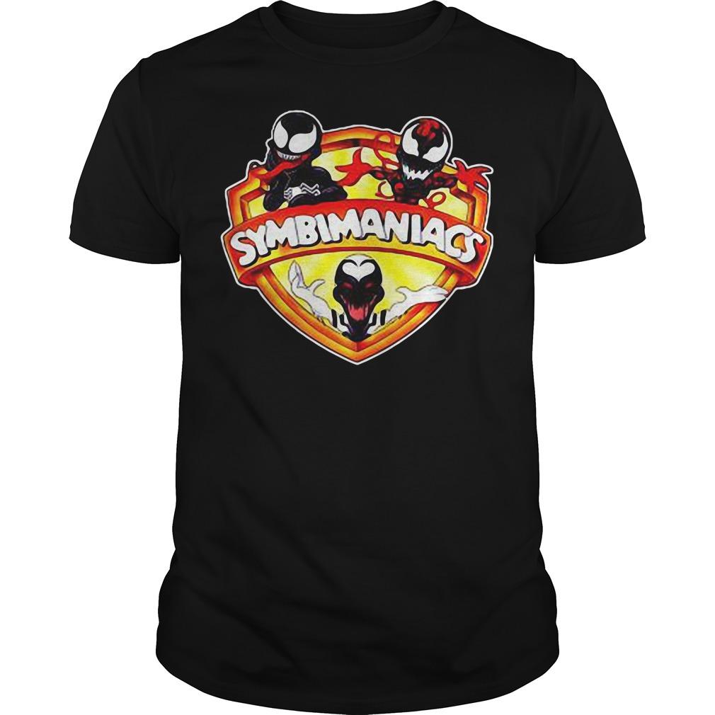 Venom Symbimaniacs shirt