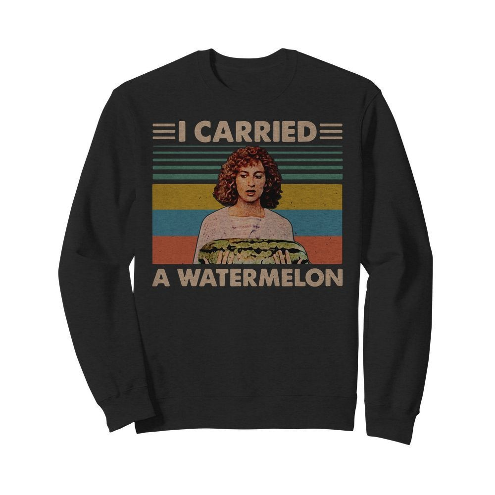 Vintage Dirty Dancing I carried a watermelon Sweater