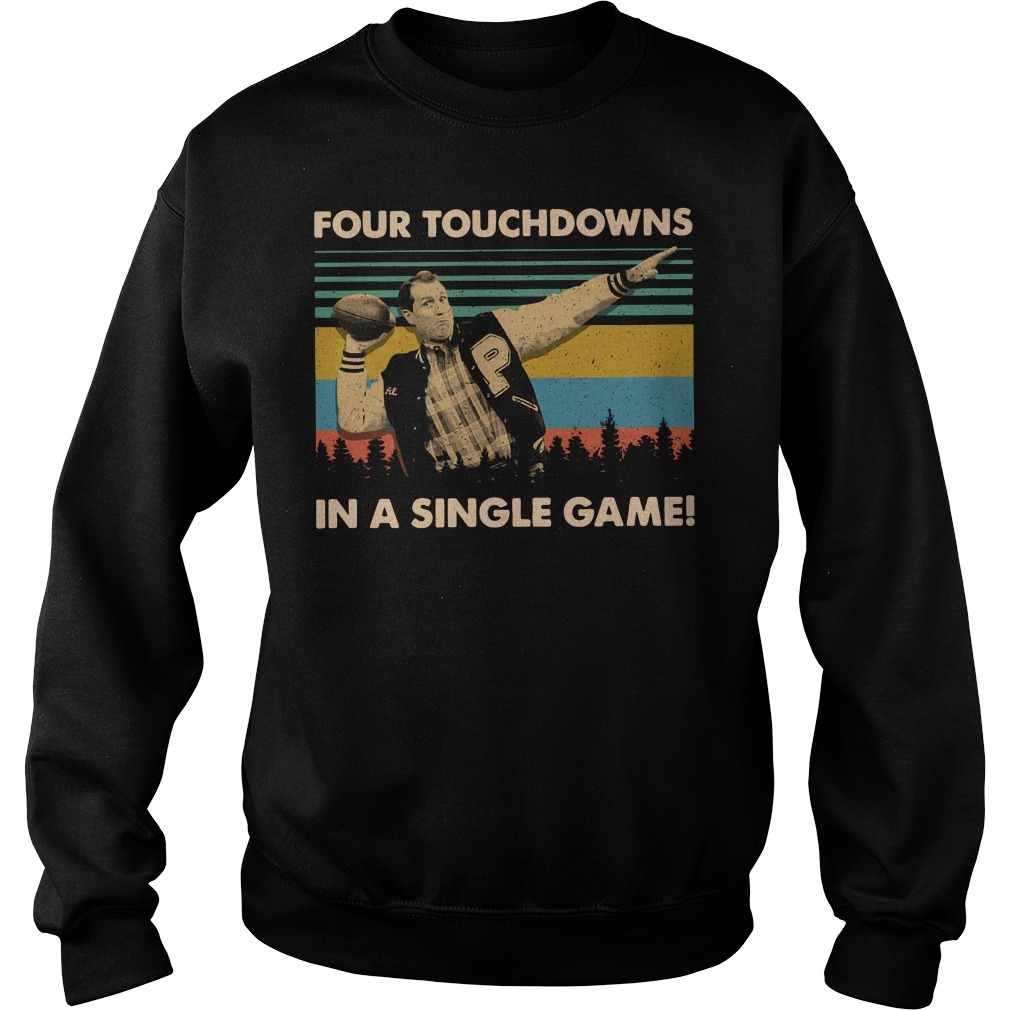 Vintage Football legend Al Bundy four touchdowns in a single game Sweater