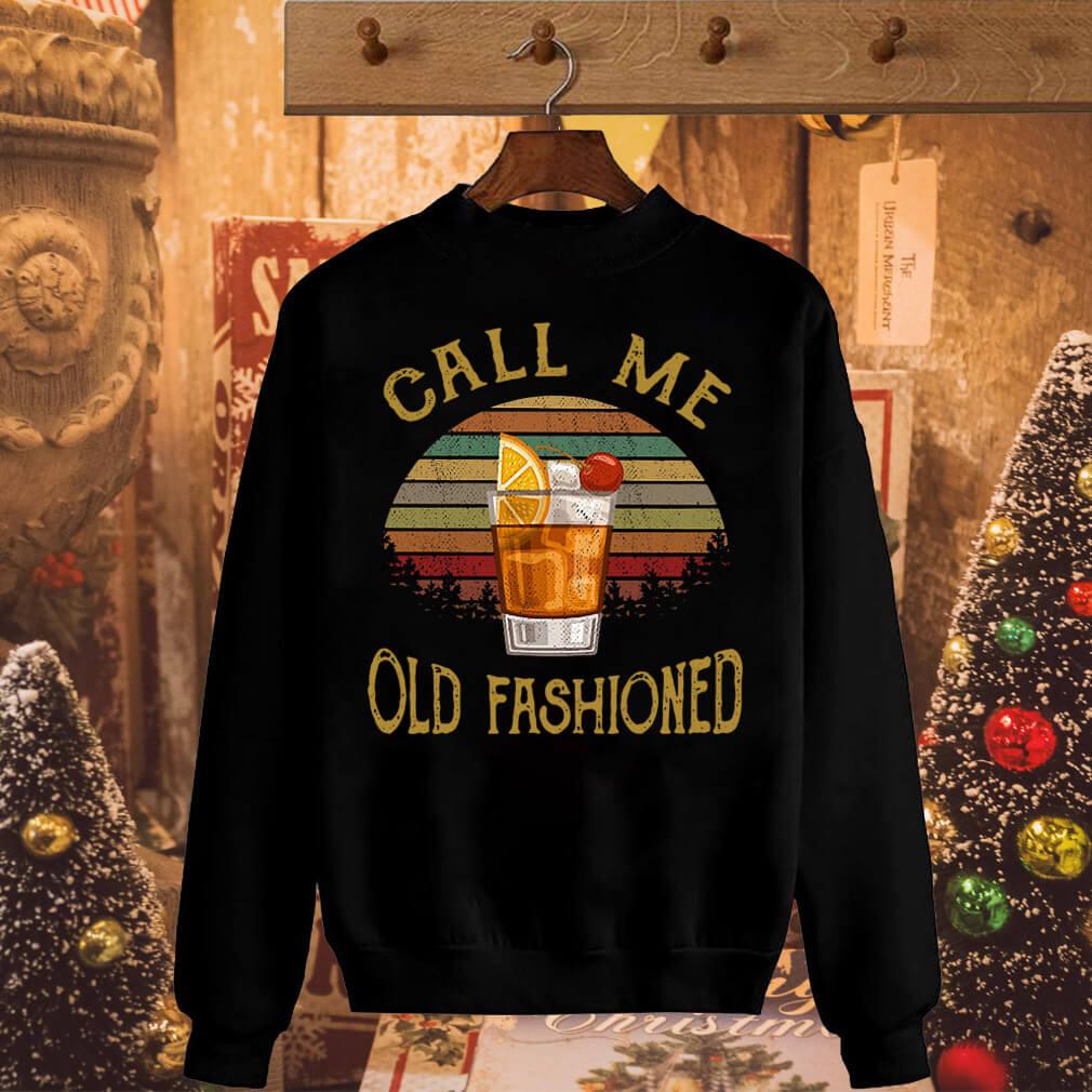 Vintage lemon juice call me old fashioned shirt