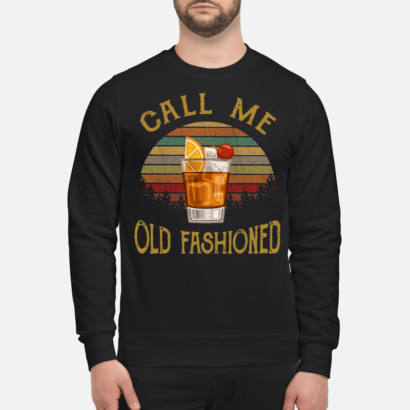 Vintage lemon juice call me old fashioned Sweater