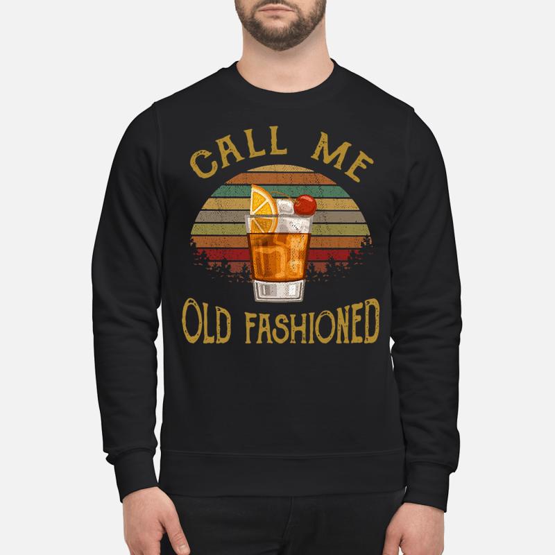 Vintage lemon juice call me old fashioned Sweater