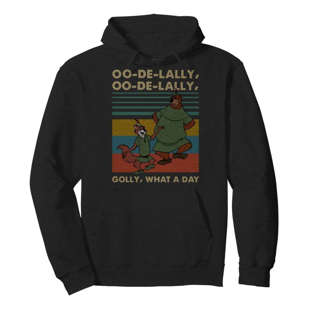 Vintage Robin Hood Little John oo-de-lally golly what a day Hoodie