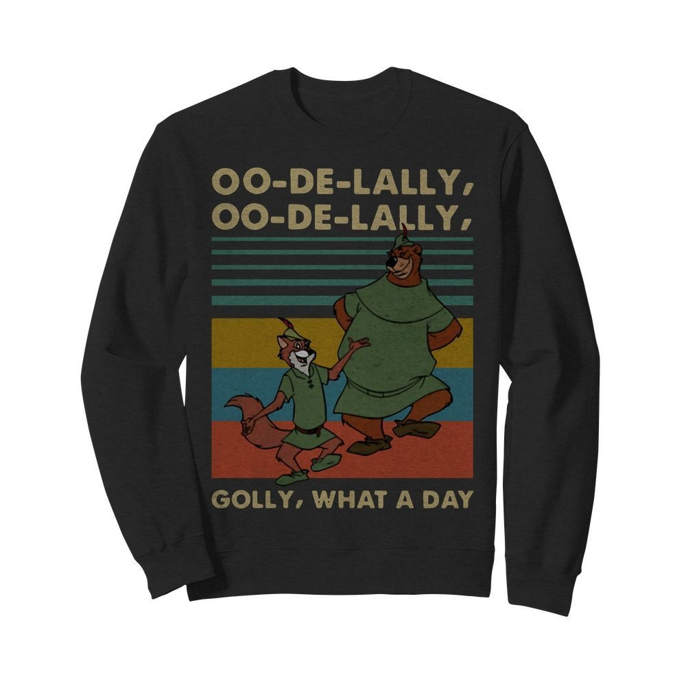 Vintage Robin Hood Little John oo-de-lally golly what a day Sweater