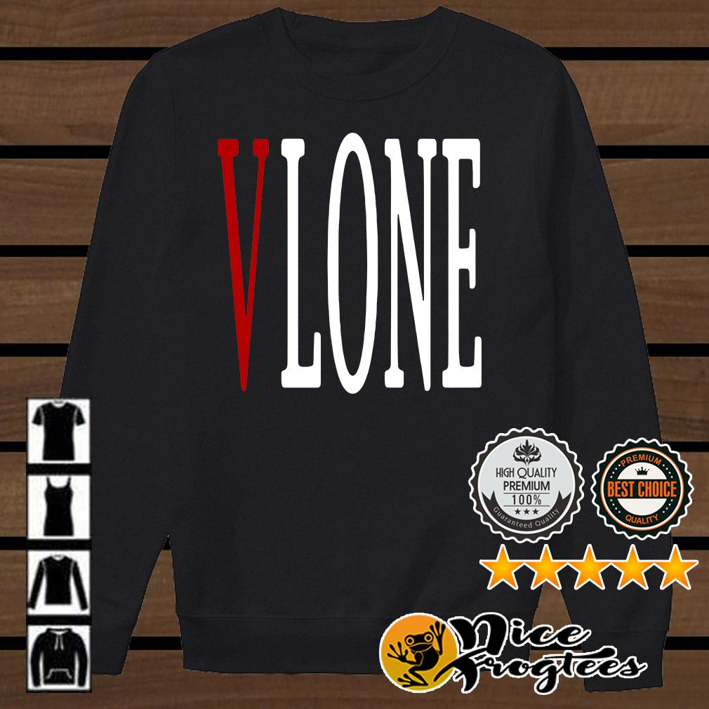 Vlone red V shirt