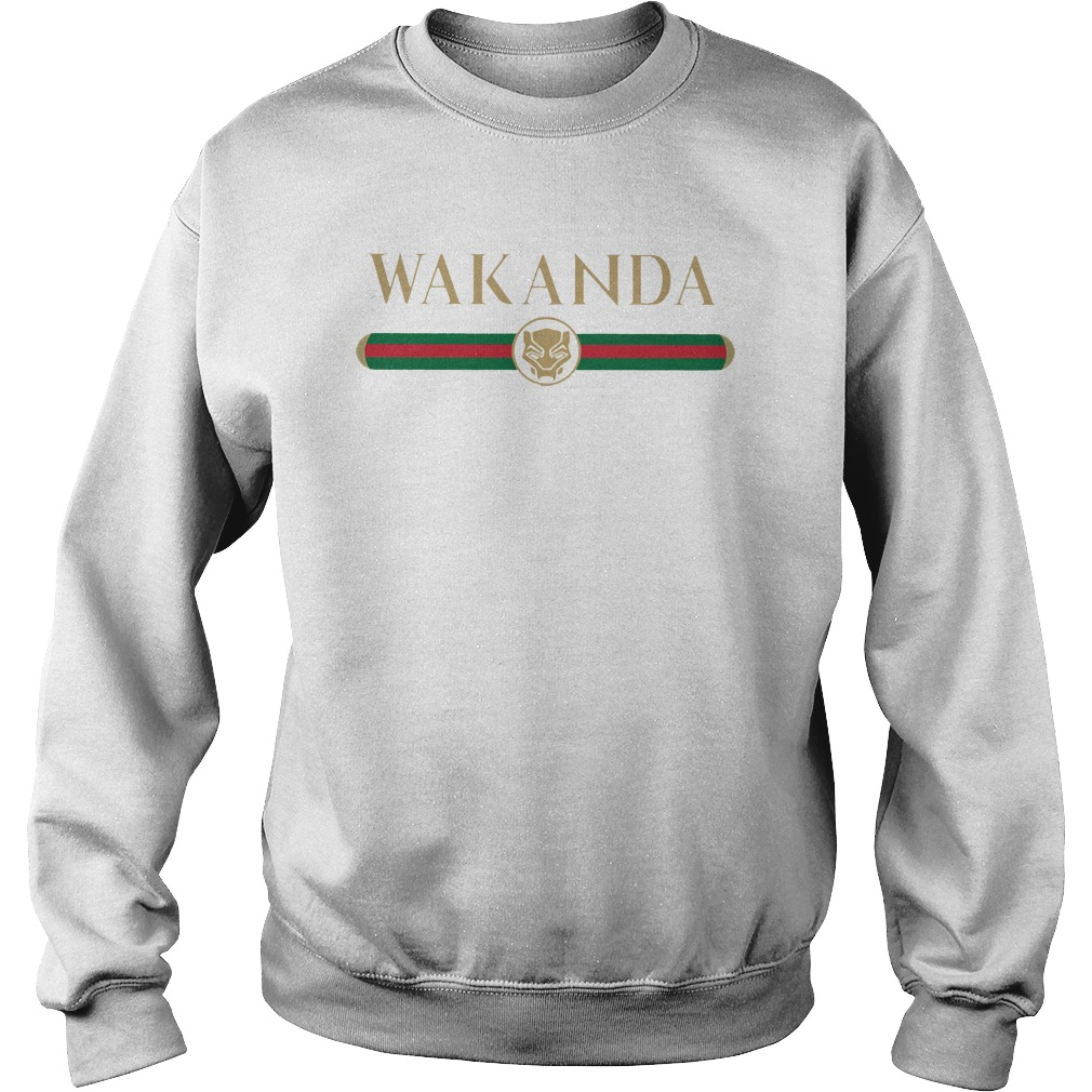 350a6dfff Black Panther Wakanda Gucci shirt - Teerana