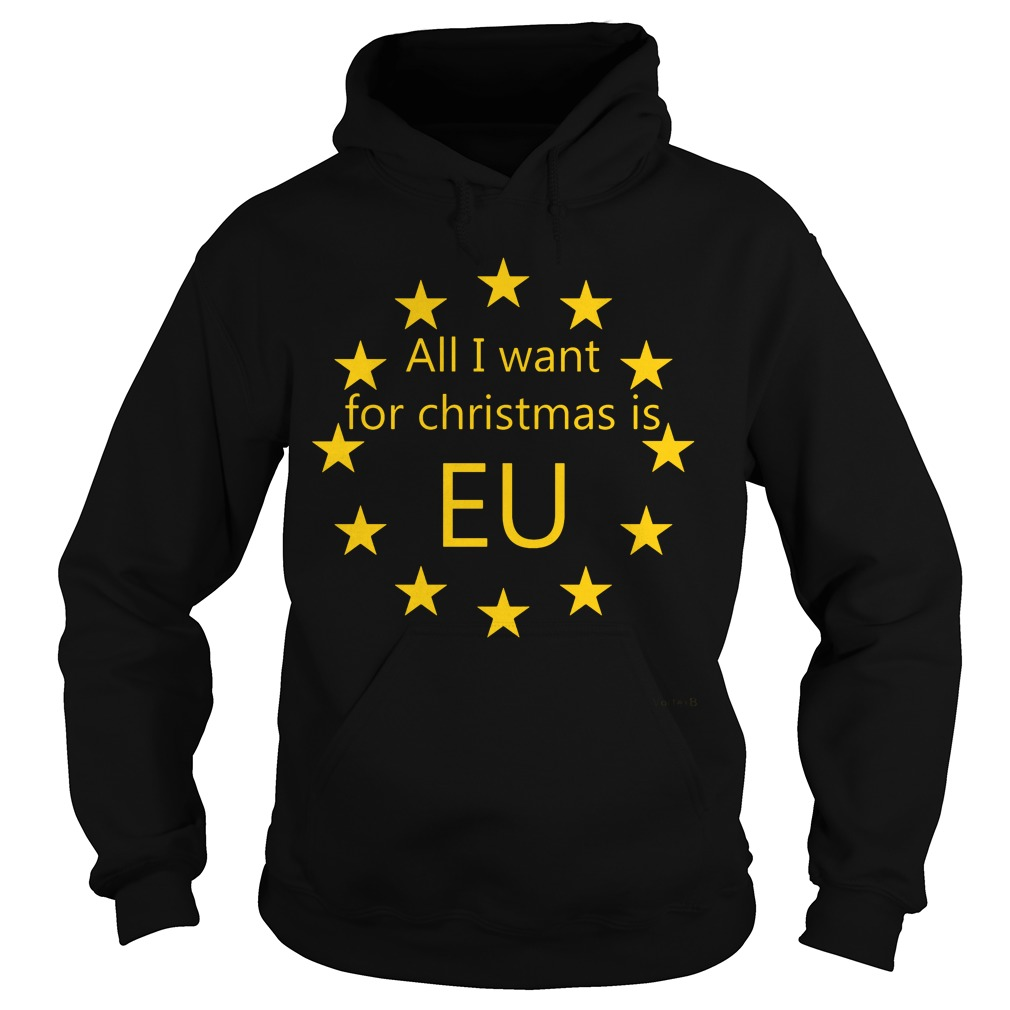All I want for Christmas is EU Hoodie