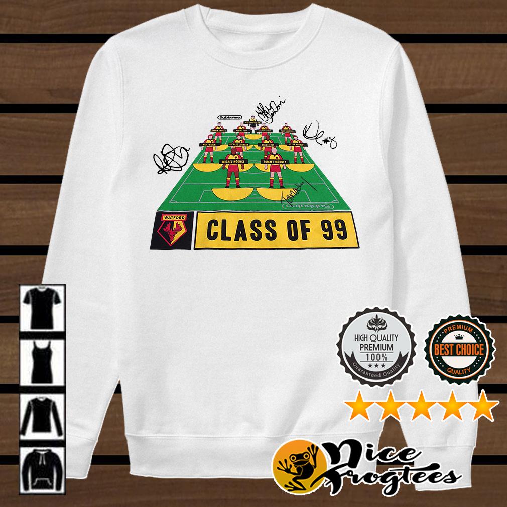 Watford Football Club class of 99 signature shirt