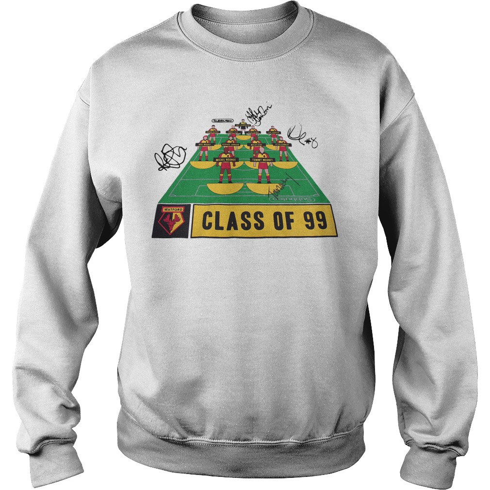 Watford Football Club class of 99 signature Sweater
