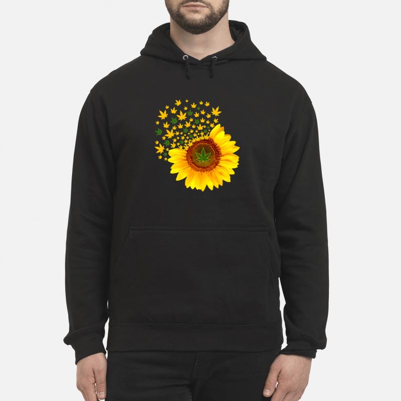 Weed sunflower Hoodie