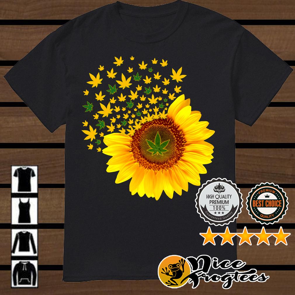 Weed sunflower shirt