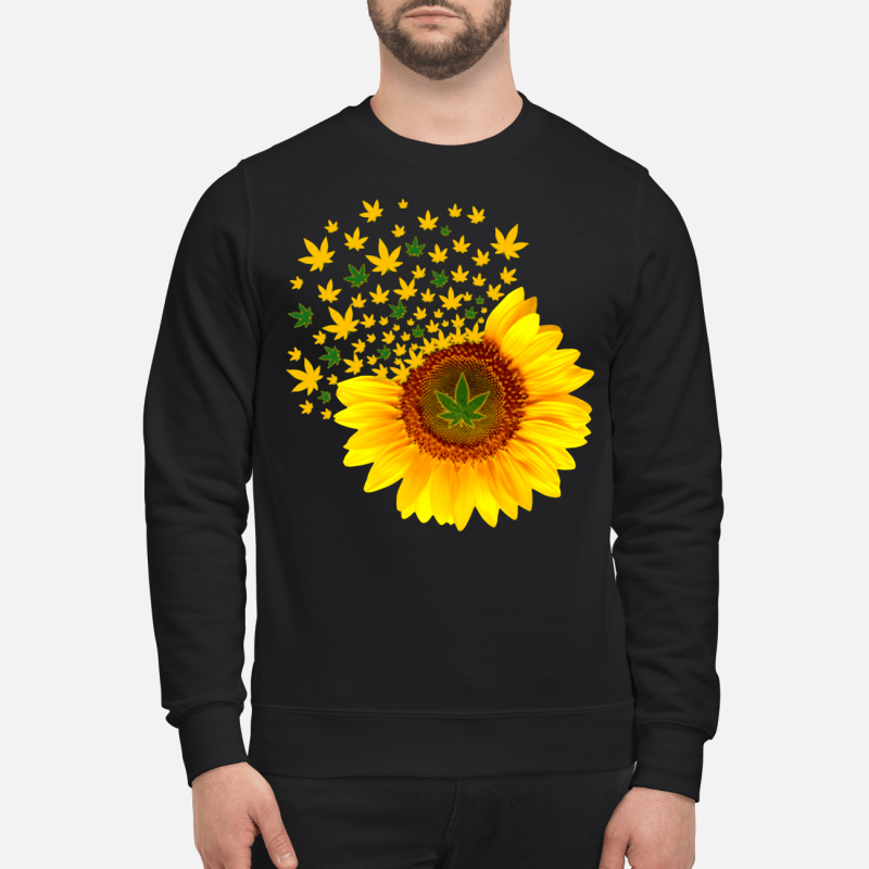 Weed sunflower Sweater